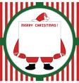 Christmas greeting card55 vector image