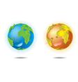 LOVE EARTH vector image