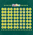 Smileys vector image