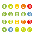 Battery and Accumulator Icons vector image