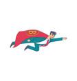 bitcoin superman advisor counsellor concept vector image