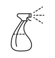 cleaning disinfection spray bottle alcohol