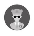 figure police officer icon image vector image vector image