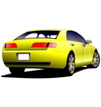 m0221 car 02 vector image vector image