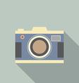 Modern Design Vintage Camera vector image vector image