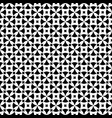 ornamental seamless pattern rounded crosses vector image vector image