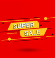 sale banner discounts and vector image vector image