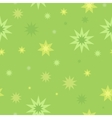 Seamless Pattern Star Splashes Isolated on White vector image