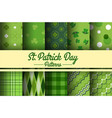 stpatricks day seamless pattern vector image vector image