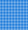 Blue Tartan Plaid Seamless vector image
