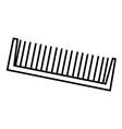 comb vector image