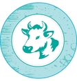 Icon of a cow vector image vector image
