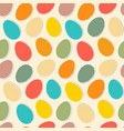 pattern with eggs vector image vector image