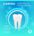 protection healthy teeth pictures vector image vector image