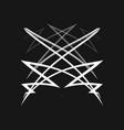 sacred geometry 0014 vector image
