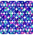 seamless geometrical pattern made of quarter vector image vector image