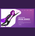 web page design business concept web vector image