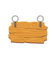 Wooden signboard plaque button for games or site