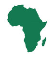 map africa vector image vector image