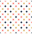 ornamental seamless pattern with star modern vector image