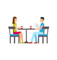 couple dining restaurant people sitting by table