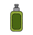 cream bottle isolated vector image vector image