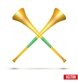 fans pipe to support athletes at competitions vector image