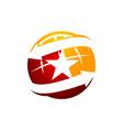 global talent logo design template vector image