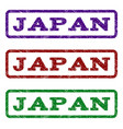 japan watermark stamp vector image vector image