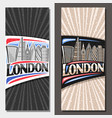 layouts for london vector image vector image