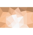 Orange triangle structure abstract background vector image vector image