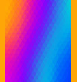 vibrant colored abstract geometric background vector image vector image