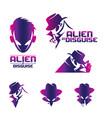 alien in disguise volume 2 vector image