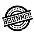 Beginner rubber stamp vector image vector image