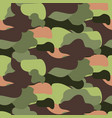 camouflage pattern seamless vector image vector image