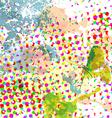 dot pattern grunge background vector image vector image