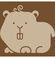 Hamster icon vector image vector image