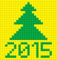 New Year symbols vector image vector image