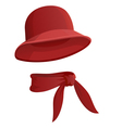 round hat vector image vector image