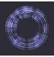 Sci fi Futuristic User Interface vector image vector image