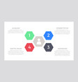 set green and blue red black elements for vector image vector image
