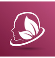 women health beauty and treatment symbols emblems vector image