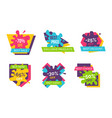 -70 off best sale stickers vector image vector image