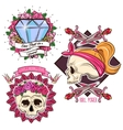 Colored Tattoo Set vector image