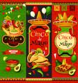 mexican cinco de mayo fiesta banners vector image vector image