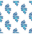 sea animal seamless pattern vector image