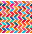 Seamless Colorful ZigZag Line Bright vector image