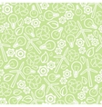 seamless ecology background vector image