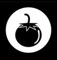 tomato icon design vector image