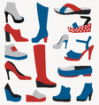 Color Icons - Shoes - vector image